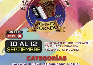 El Festival Vallenato Leyenda El Dorado tiene sus inscripciones abiertas